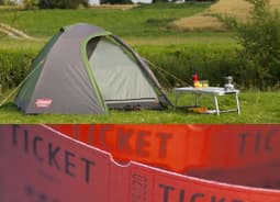Tickets & Camping image